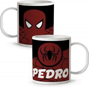 Taza personalizada de Spiderman - Las mejores tazas de Spiderman - Tazas de Marvel