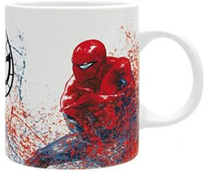 Taza versión realista de Spiderman - Las mejores tazas de Spiderman - Tazas de Marvel