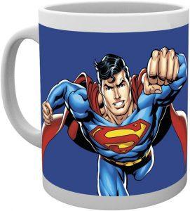 Taza volando de Superman - Las mejores tazas de Superman - Tazas de DC