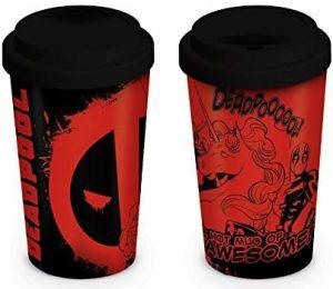 Vaso de cerámica de Deadpool - Las mejores tazas de Deadpool - Tazas de Marvel