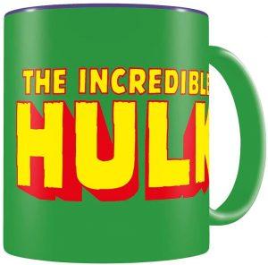 Vaso de letras de Hulk - Las mejores tazas de Hulk - Tazas de Marvel