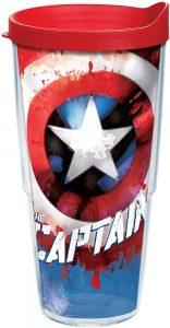 Vaso del Capitán América - Las mejores tazas de Capitán América - Tazas de Marvel