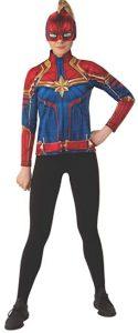 5 Disfraz de Capitana Marvel para niñas Multitalla 3 - Los mejores disfraces de Capitana Marvel - Disfraz de Carol Danvers de Marvel