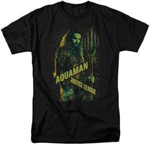 Camiseta de Aquaman Justice League - Las mejores camisetas de Aquaman - Camiseta de Aquaman de DC
