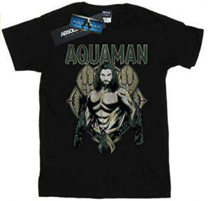 Camiseta de Aquaman Scales - Las mejores camisetas de Aquaman - Camiseta de Aquaman de DC