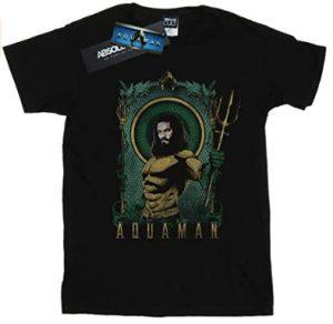 Camiseta de Aquaman con tridente - Las mejores camisetas de Aquaman - Camiseta de Aquaman de DC