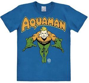 Camiseta de Aquaman diseño clásico - Las mejores camisetas de Aquaman - Camiseta de Aquaman de DC