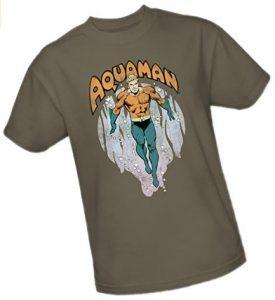 Camiseta de Aquaman diseño comic - Las mejores camisetas de Aquaman - Camiseta de Aquaman de DC