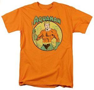 Camiseta de Aquaman diseño naranja - Las mejores camisetas de Aquaman - Camiseta de Aquaman de DC