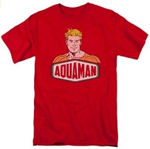 Camiseta de Aquaman feliz - Las mejores camisetas de Aquaman - Camiseta de Aquaman de DC