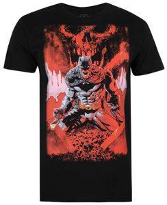 Camiseta de Batman con sangre - Las mejores camisetas de Batman - Camiseta de Batman de DC