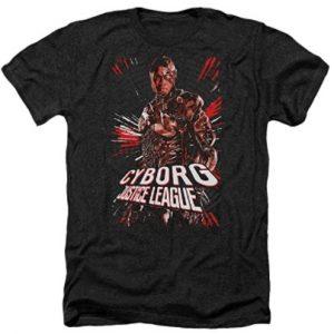 Camiseta de Cyborg Justice League - Las mejores camisetas de Cyborg - Camiseta de Cyborg de DC