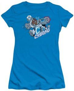 Camiseta de Cyborg Teen Titans Go - Las mejores camisetas de Cyborg - Camiseta de Cyborg de DC