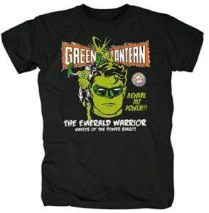Camiseta de Emerald Warrior de Green Lantern - Las mejores camisetas de Green Lantern - Camiseta de Linterna Verde de DC