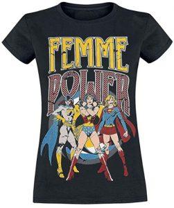 Camiseta de Femme Power de Wonder Woman - Las mejores camisetas de Wonder Woman - Camiseta de Wonder Woman de DC