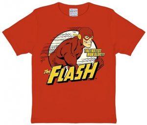 Camiseta de Flash The Fastest Man Alive - Las mejores camisetas de Flash - Camiseta de The Flash de DC