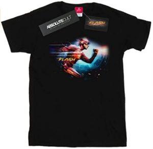 Camiseta de Flash corriendo serie - Las mejores camisetas de Flash - Camiseta de The Flash de DC