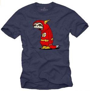 Camiseta de Flash de Perezoso - Las mejores camisetas de Flash - Camiseta de The Flash de DC