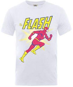 Camiseta de Flash versión cómic - Las mejores camisetas de Flash - Camiseta de The Flash de DC