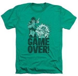 Camiseta de Game Over de Green Lantern - Las mejores camisetas de Green Lantern - Camiseta de Linterna Verde de DC