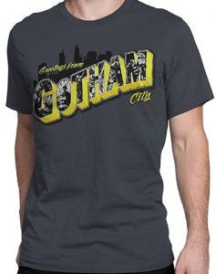 Camiseta de Gotham City de Batman - Las mejores camisetas de Batman - Camiseta de Batman de DC