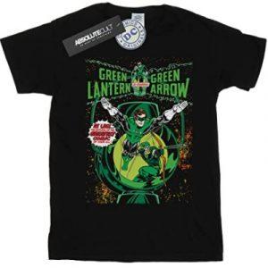 Camiseta de Green Lantern y Green Arrow - Las mejores camisetas de Green Lantern - Camiseta de Linterna Verde de DC
