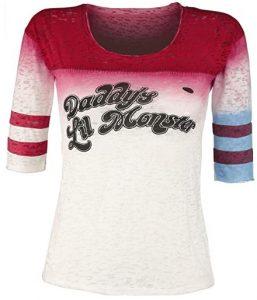 Camiseta de Harley Quinn Daddy's Lil Monster - Las mejores camisetas de Harley Quinn - Camiseta de Harley Quinn de DC
