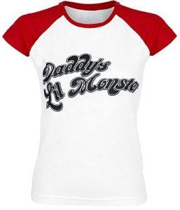 Camiseta de Harley Quinn Daddy's Lil Monster Suicide Squad - Las mejores camisetas de Harley Quinn - Camiseta de Harley Quinn de DC