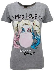 Camiseta de Harley Quinn Mad Love - Las mejores camisetas de Harley Quinn - Camiseta de Harley Quinn de DC