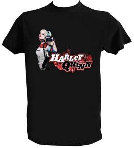 Camiseta de Harley Quinn con bate - Las mejores camisetas de Harley Quinn - Camiseta de Harley Quinn de DC