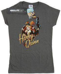 Camiseta de Harley Quinn de Bombshells - Las mejores camisetas de Harley Quinn - Camiseta de Harley Quinn de DC