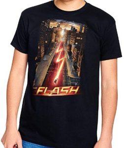 Camiseta de The Flash Night Run - Las mejores camisetas de Flash - Camiseta de The Flash de DC