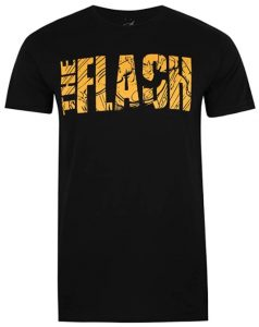 Camiseta de The Flash letras - Las mejores camisetas de Flash - Camiseta de The Flash de DC