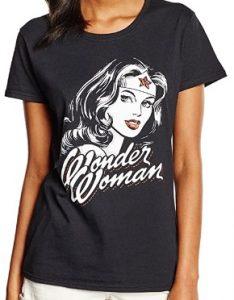 Camiseta de Wonder Woman imagen clasica dibujo - Las mejores camisetas de Wonder Woman - Camiseta de Wonder Woman de DC