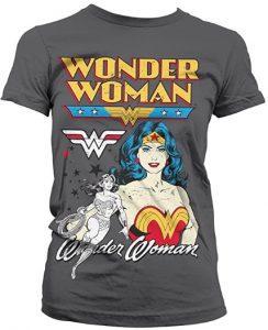 Camiseta de Wonder Woman imagen clasica diseño - Las mejores camisetas de Wonder Woman - Camiseta de Wonder Woman de DC