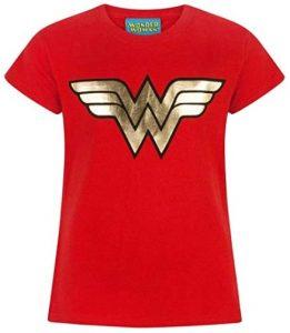 Camiseta de Wonder Woman roja - Las mejores camisetas de Wonder Woman - Camiseta de Wonder Woman de DC