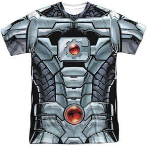 Camiseta de armadura de Cyborg - Las mejores camisetas de Cyborg - Camiseta de Cyborg de DC