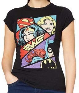 Camiseta de heroínas de DC de Wonder Woman - Las mejores camisetas de Wonder Woman - Camiseta de Wonder Woman de DC