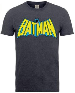 Camiseta de letras clásicas de Batman - Las mejores camisetas de Batman - Camiseta de Batman de DC