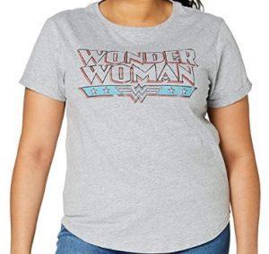 Camiseta de letras de Wonder Woman - Las mejores camisetas de Wonder Woman - Camiseta de Wonder Woman de DC