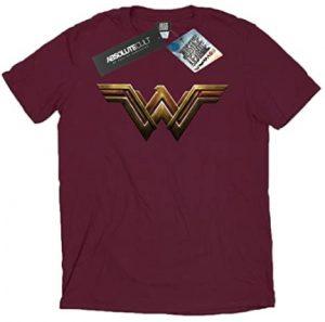 Camiseta de logo Justice League de Wonder Woman - Las mejores camisetas de Wonder Woman - Camiseta de Wonder Woman de DC
