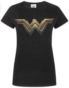 Camiseta de logo Main de Wonder Woman - Las mejores camisetas de Wonder Woman - Camiseta de Wonder Woman de DC