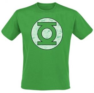 Camiseta de logo brillante de Linterna Verde - Las mejores camisetas de Green Lantern - Camiseta de Linterna Verde de DC