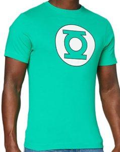 Camiseta de logo claro de Linterna Verde - Las mejores camisetas de Green Lantern - Camiseta de Linterna Verde de DC