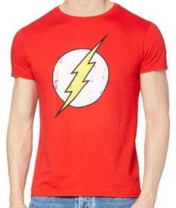Camiseta de logo de Flash - Las mejores camisetas de Flash - Camiseta de The Flash de DC