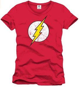Camiseta de logo de Flash clásico - Las mejores camisetas de Flash - Camiseta de The Flash de DC