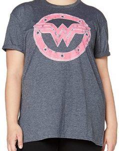Camiseta de logo de Wonder Woman Bombshells - Las mejores camisetas de Wonder Woman - Camiseta de Wonder Woman de DC