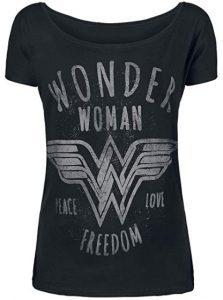 Camiseta de logo de Wonder Woman Freedom - Las mejores camisetas de Wonder Woman - Camiseta de Wonder Woman de DC