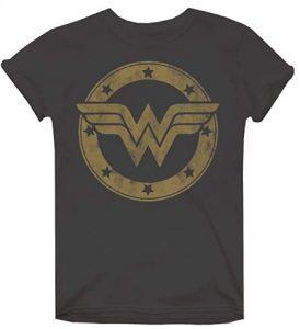 Camiseta de logo de Wonder Woman - Las mejores camisetas de Wonder Woman - Camiseta de Wonder Woman de DC