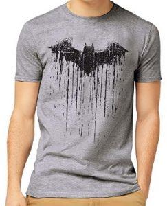 Camiseta de logo pintado de Batman - Las mejores camisetas de Batman - Camiseta de Batman de DC